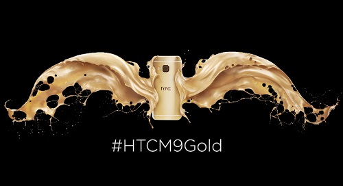 HTC M9 Gold mobilephone