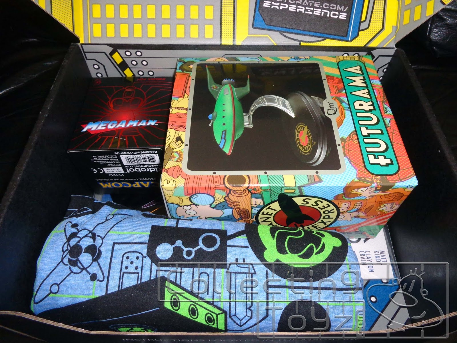 Collecting Toyz Loot Crate Futuristic Unboxing Tony Hawk Circuit Boards By Hexbug Power Axle Set Innovation First Heres What You See Once Flip Open The Lid On Box Some Cool Looking Things Here Thats For Sure