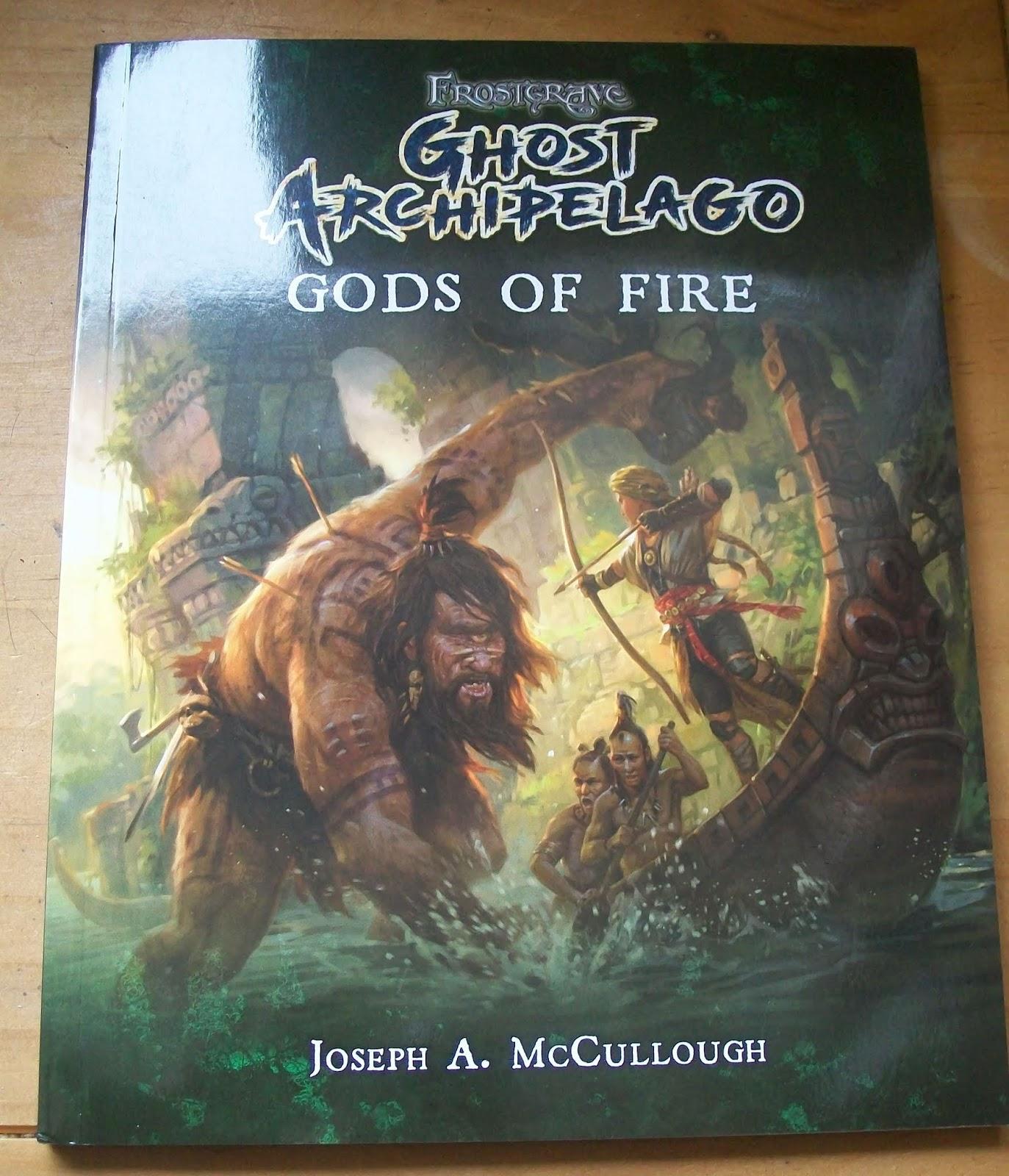 The Renaissance Troll: Ghost Archipelago: Gods of Fire