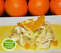 Pechugas de pollo a la naranja THERMOMIX CON