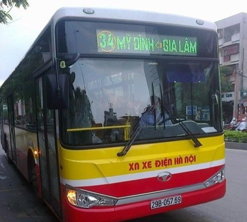 Xe bus 34, xe buýt 34