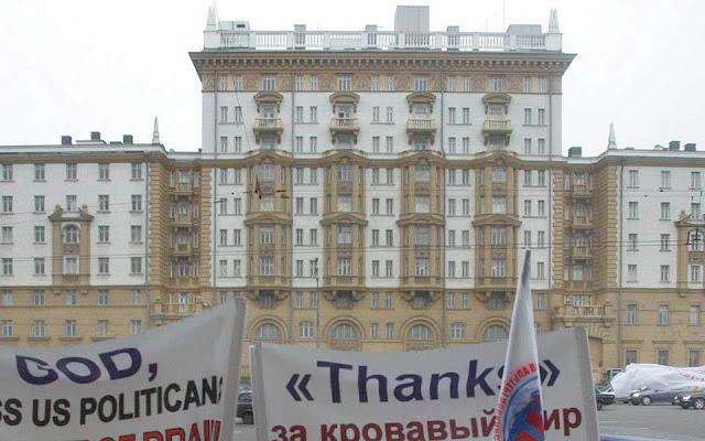 Στην προστασία του προέδρου η Ρωσίδα κατάσκοπος