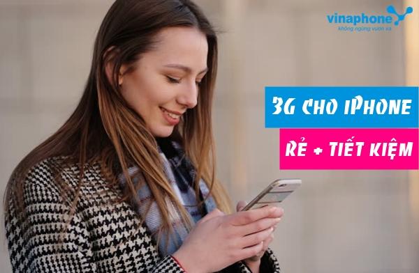 Đăng ký 3G Vinaphone cho iPhone trả trước, sau