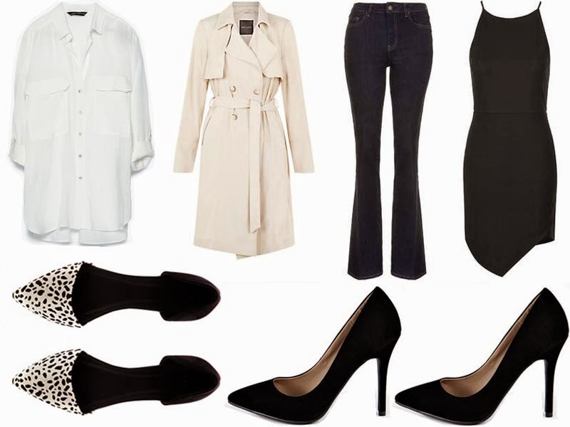 French 10-Piece Capsule Wardrobe