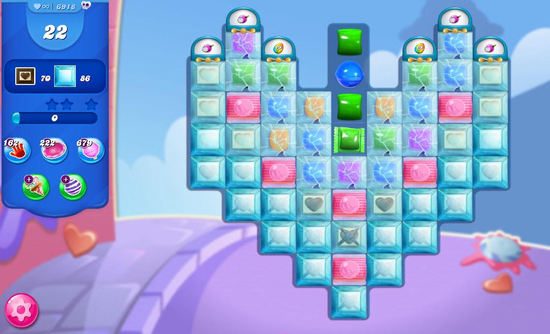 Candy Crush Saga level 6918