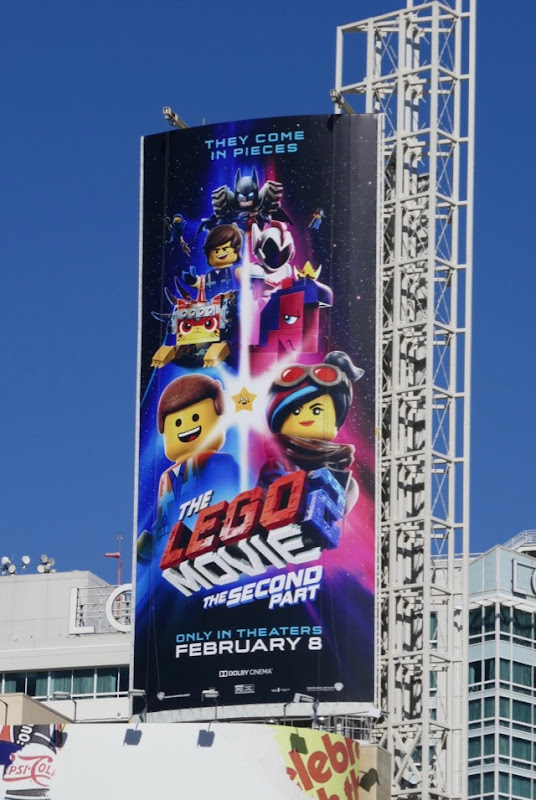 Lego Movie 2 Second Part billboard