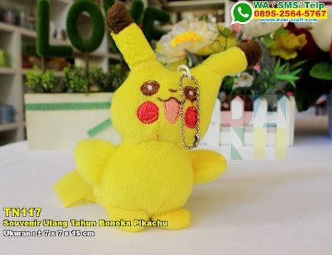 Souvenir Ulang Tahun Boneka Pikachu