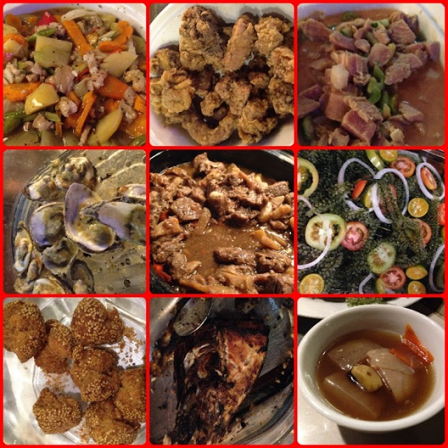 Abi's Seafood and Grill, Buffet Restaurants in Bohol, Eat All You Can Restaurants in Bohol, oysters, binangkal, lato, balbacua, beef menudo