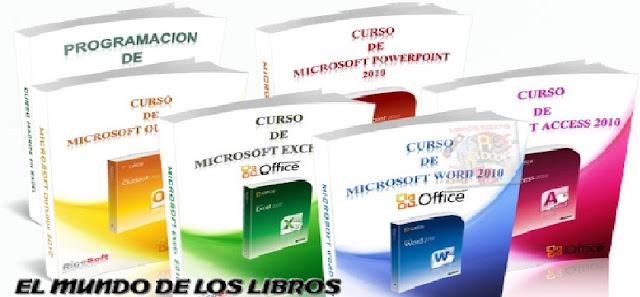 Ofimatica Pack De Excelente Libros De Guía Completas