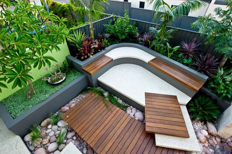 Immagini aiuole e decorazioni per giardino e terrazzo