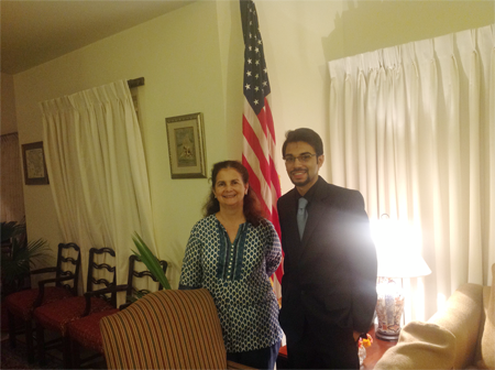 Bilal Sheikh represents UMT in iftar dinner hosted by US Consul