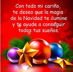 Deseos de feliz navidad