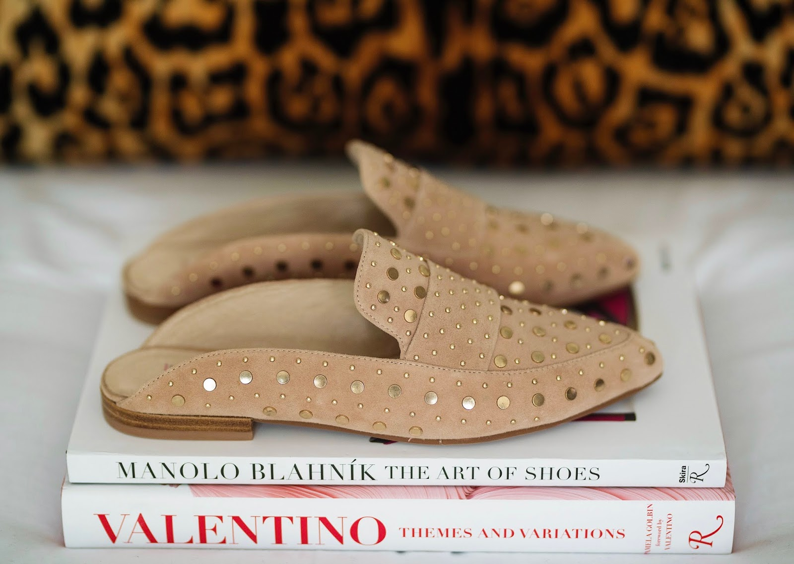 Nordstrom Anniversary Sale Kristin Cavallari Charlie Studded Loafer Mule - Something Delightful Blog