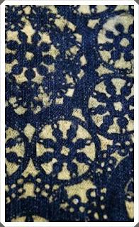 Kot Pantolona Simli  Süsleme Yapımı, Resimli Açıklamalı 2