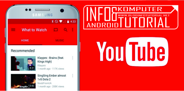 Tips Hemat kuota Streaming Video Youtube di Android