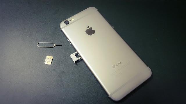 كيفية ازالة وتركيب البطاقة SIM Card على ايفون وايباد