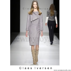 Queen Maxima wore Claes Iversen Coatdress