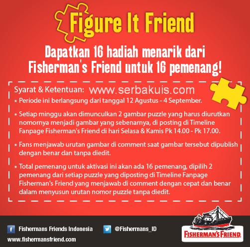 Kuis Figure It Friend Berhadiah Menarik