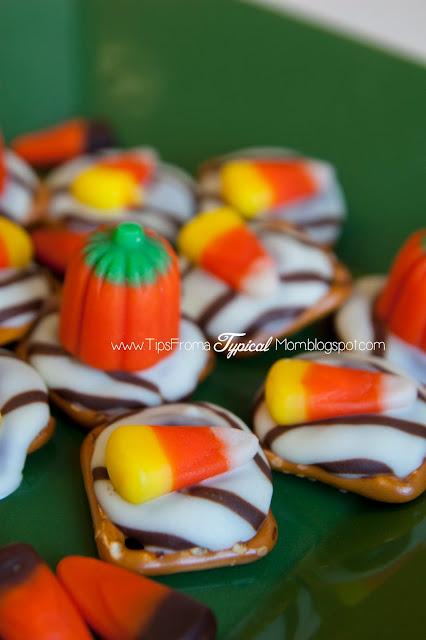 {Halloween} Hershey's Kiss Pretzel Recipe