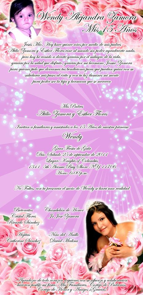 Printable Quinceanera Invitations as perfect invitation ideas
