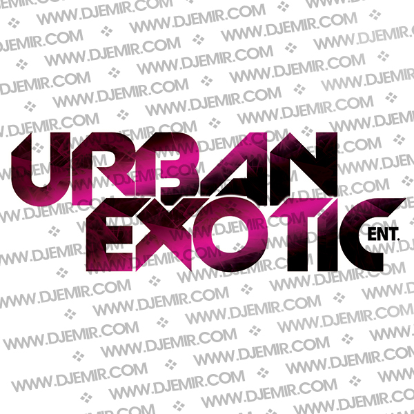 Urban Exotic Entertainment Logo Design Version 5