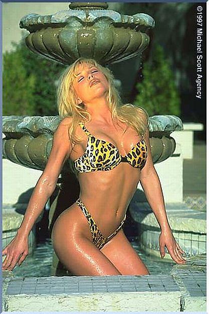 90s Fitness Model Kim Egler