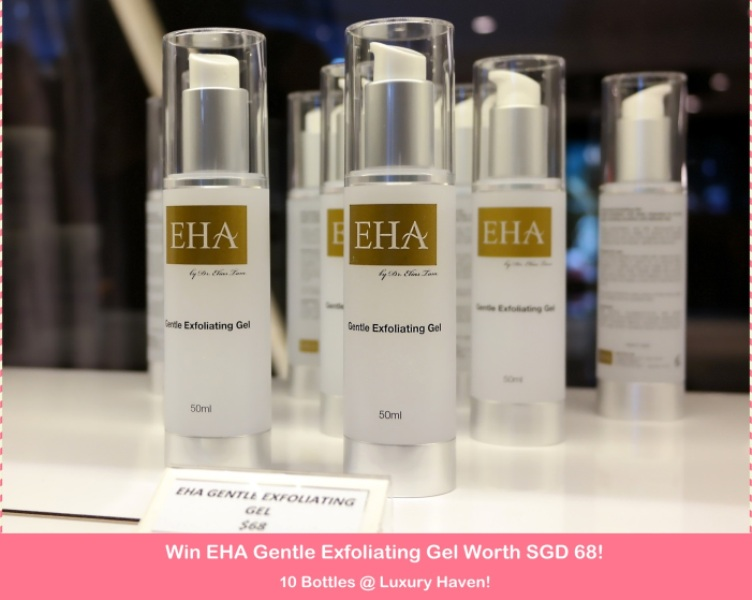 gss eha gentle exfoliating gel giveaway