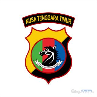 Polda Nusa Tenggara Timur Logo vector (.cdr)