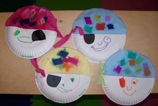 Preschool Crafts for Kids*: Pirate Paper Plate Craft
