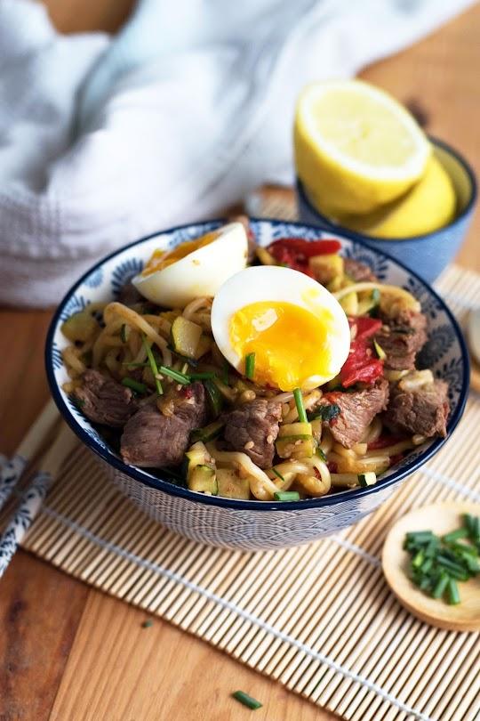 recette wok