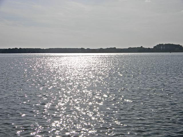 Jezioro Zbąszyńskie, woda, las, wypoczynek, słońce