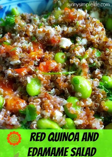quinoa recipe, edamame recipe