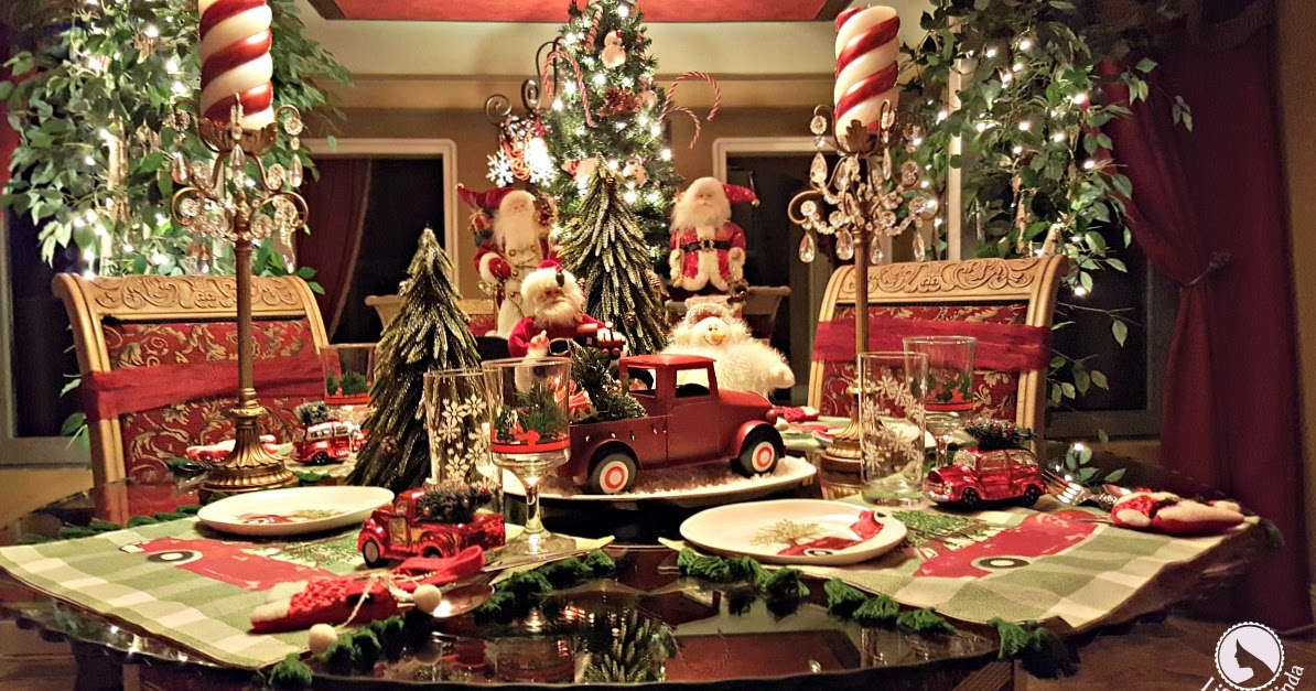 Vintage Car Tablescape Life And Linda