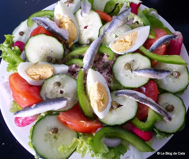 """Salata """"niçoise"""""""