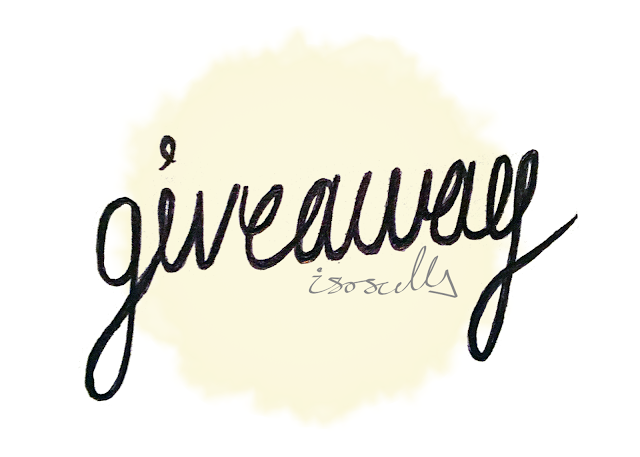 Blog Giveaway New Year's Resolution