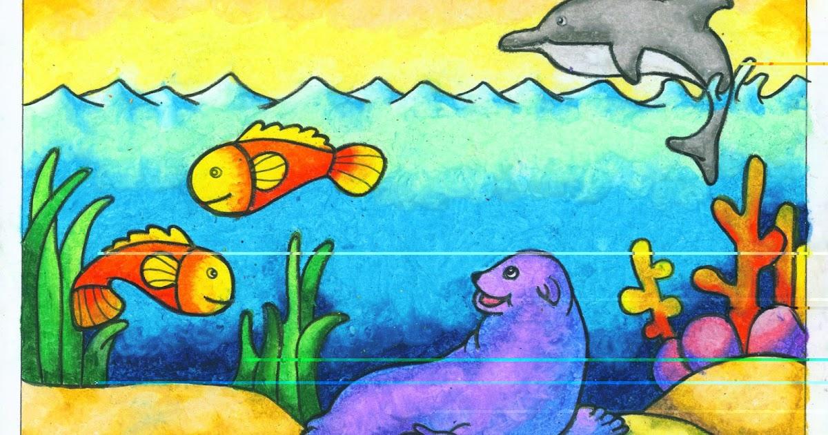 Terbaru 50 Gambar Flora Dan Fauna Menggunakan Crayon