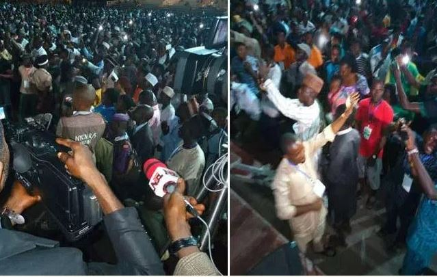 Youths Hired To Pray For Buhari Battle With Organizers Over Payment (Video)