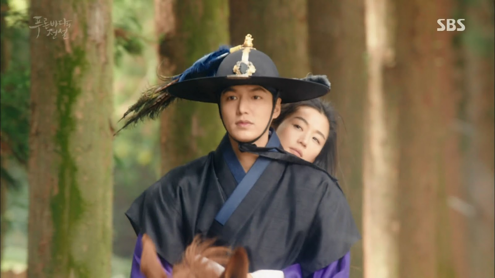 Screenshot Joon Jea And Cheong Yi Beginning Scene The Legend Of The Blu Sea (2016)  1080p Episode 05 - www.uchiha-uzuma.com