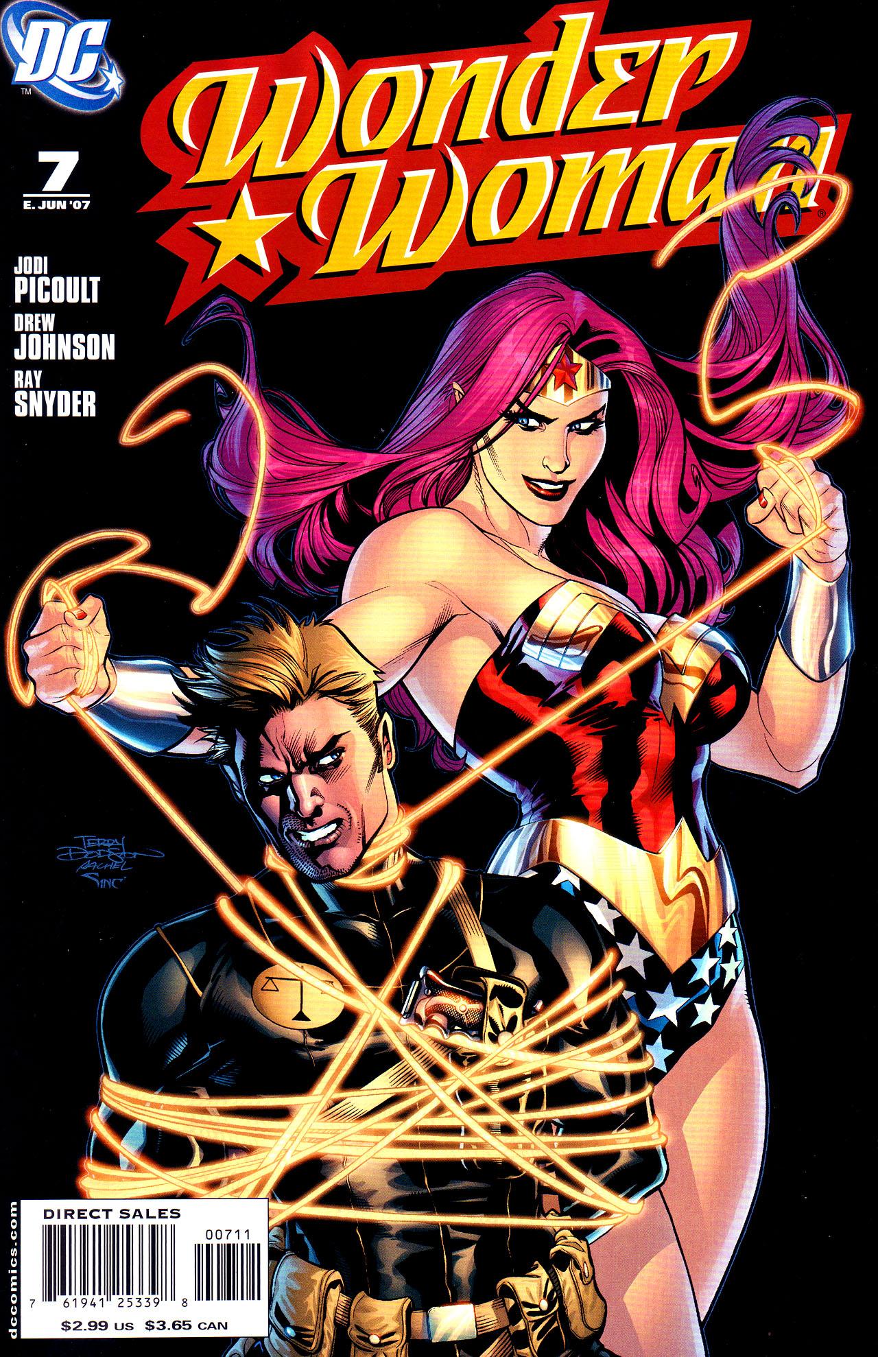 Read online Wonder Woman (2006) comic -  Issue #7 - 1