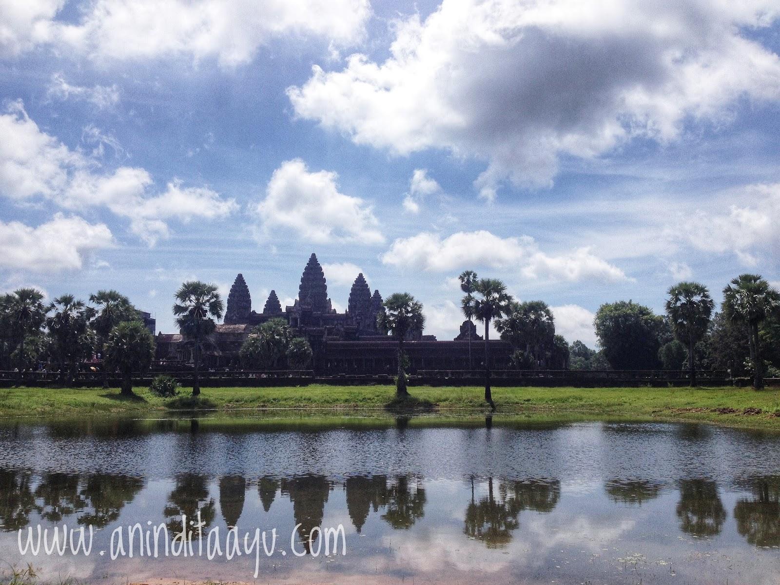 Angkor Wat, Siem Reap Cambodia liburan di luar kota