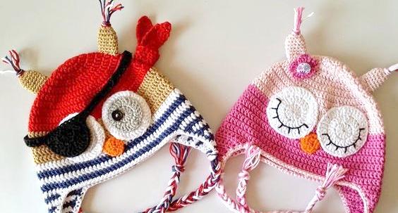 Patrones de gorros en ganchillo o crochet (Crochet headband patterns)