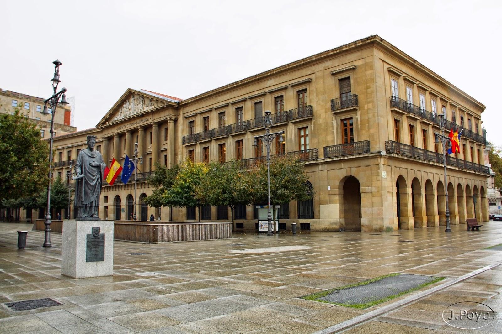 Palacio de Navarra de Pamplona