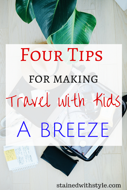 four tips to make family travel, travel with kids, easier