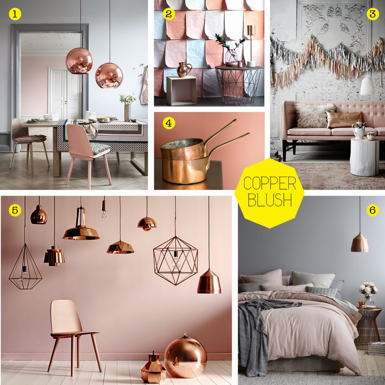Copper And Grey Bedroom Ideas: The Style Index : Blushing Beauty: Dulux Colour Of 2015
