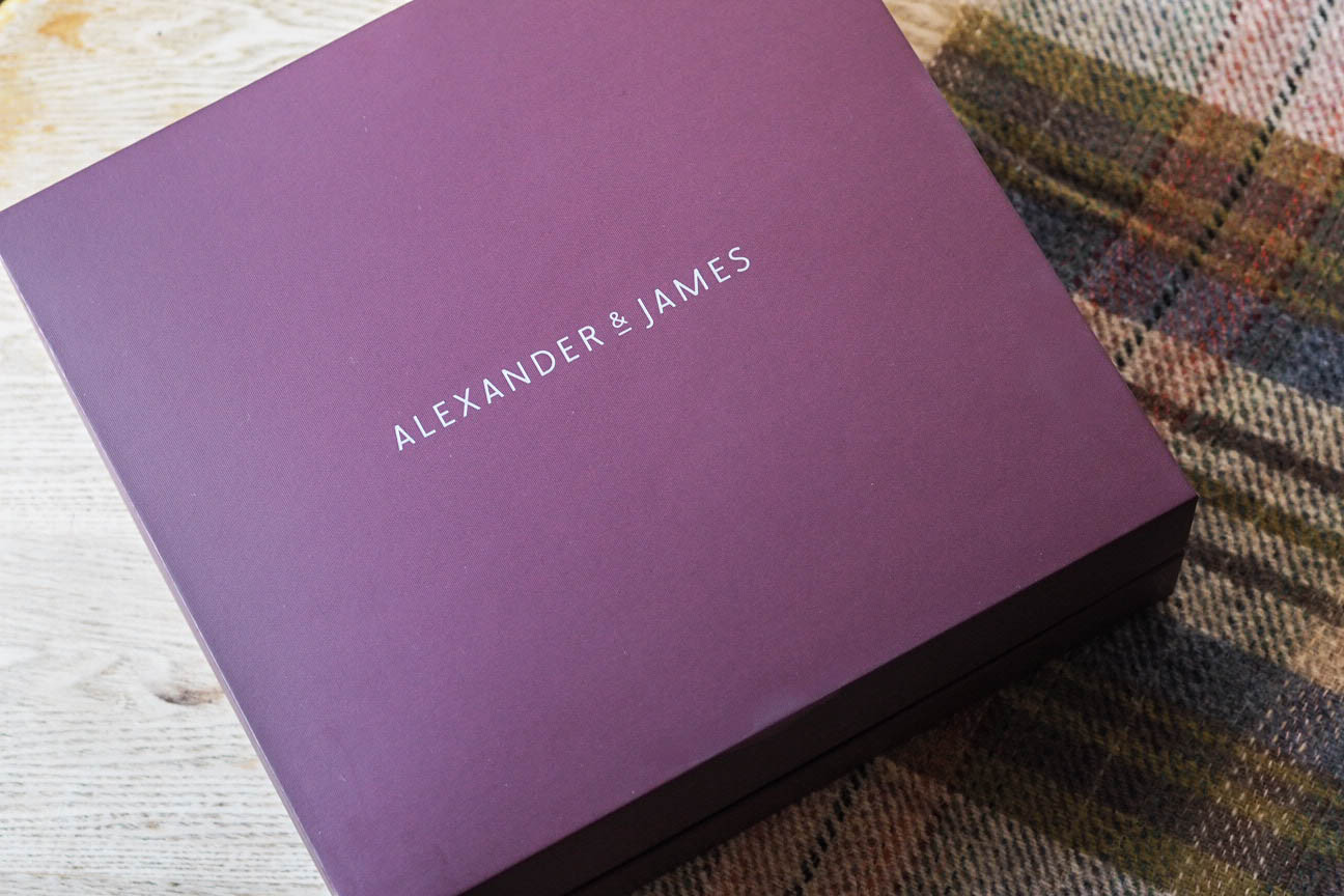 Alexander and James gift sets