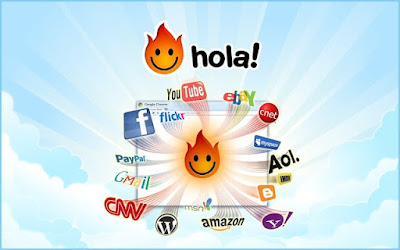 تحميل برنامج فتح المواقع المحجوبة  - هولا في بي ان Hola VPN برابط مباشر