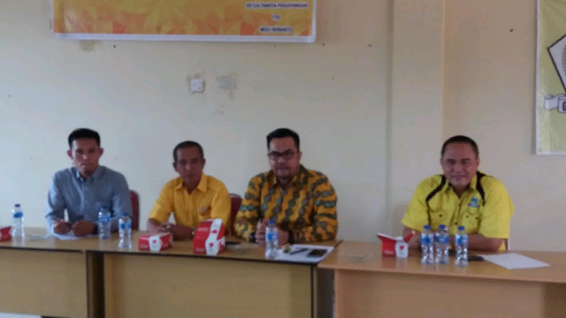 DPD Partai Golkar Tetapkan Dua Calon Wabup Empat Lawang