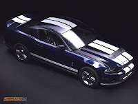 Ford Mustang Shelby GT500 Mustang 2010 Revell 1/12