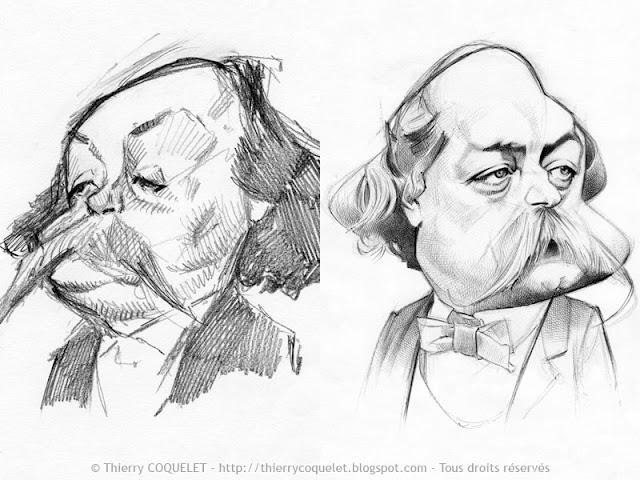 Gustave Flaubert (études)