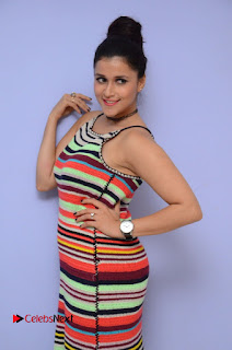 Actress Mannara Chopra Latest Pictures at Jakkanna Movie Platinum Disc Function  0008